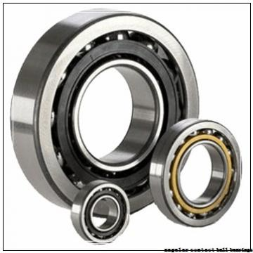 35 mm x 80 mm x 21 mm  ZEN 7307B-2RS angular contact ball bearings