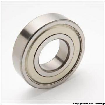 17 mm x 40 mm x 12 mm  PFI 6203-ZZ NR C3 deep groove ball bearings