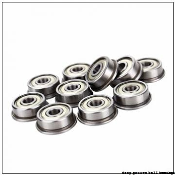 75 mm x 130 mm x 74,6 mm  FYH NA215 deep groove ball bearings