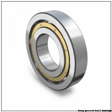 25 mm x 52 mm x 44,3 mm  SNR EX205 deep groove ball bearings