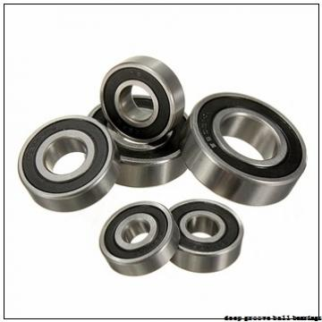22 mm x 50 mm x 14 mm  NKE 62/22 deep groove ball bearings