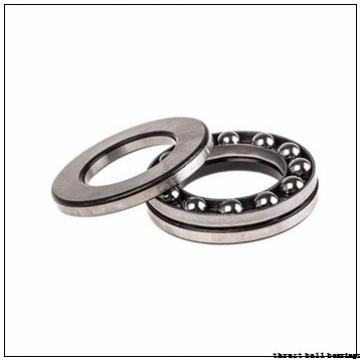 50 mm x 130 mm x 21 mm  NKE 54412-MP thrust ball bearings