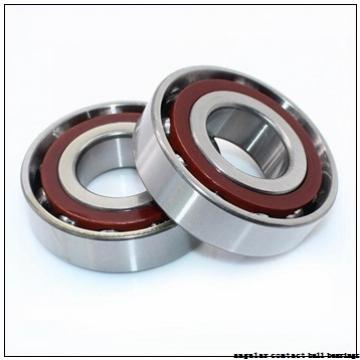 85 mm x 180 mm x 41 mm  FBJ 7317B angular contact ball bearings