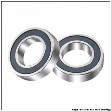 30 mm x 125,6 mm x 75 mm  PFI PHU2036 angular contact ball bearings