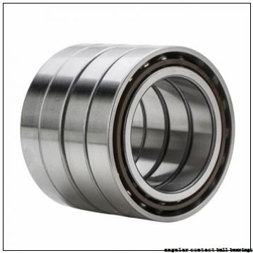 35 mm x 64 mm x 37 mm  PFI PW35640037CS angular contact ball bearings