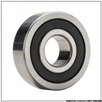 38 mm x 79 mm x 45 mm  SNR GB35206 angular contact ball bearings