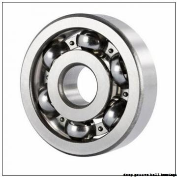 32 mm x 72 mm x 19 mm  PFI 6306-2RS d32 C3 deep groove ball bearings